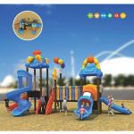commercial kids plastic outdoor play equipment outside play centre