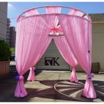 RK Customized Backdrop wedding tent with lining flower wall backdrop wedding