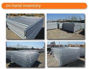 Portable Barriers Fencing / Portable Event Fencing Anti Climb Mesh