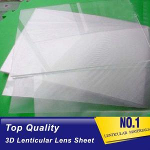 China Wholesale 3d lenticular plastic sheets 75 lpi lenticular blank PET material from factory Bolivia on sale