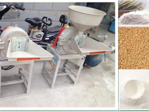 China Spice powder grinder /spice powder mill / Herb grinder/ fish bone grinder/ rice powder mill/ Disc mill on sale