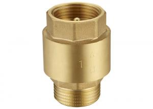 China Plumbing Brass One Way Check Valve 15mm 0.5 Inch on sale