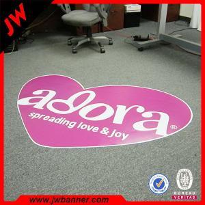 China Advertise custom design PVC roll flooring / pvc flooring vinyl sticker on sale