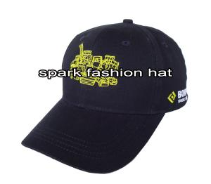 Quality Custom cotton baseball cap with your own logo for sale