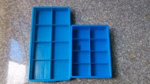 China New HDPE Plastic 8 grids Crate /storage box on sale