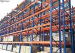 High Density Very Narrow Aisle Racking Storehouse Galvanized Surface Accessories Included