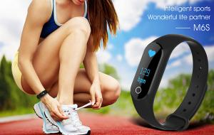 China Health Smart Waterproof Fitness Tracker Bracelet Watch Support Remote Control Camera on sale