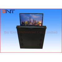 China Retractable FHD Screen LCD Desk Monitor Lift  For Advanced Office System on sale