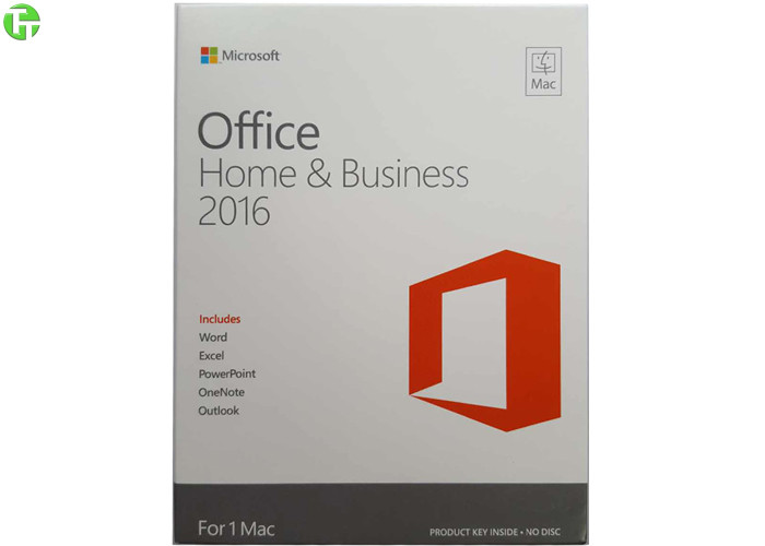 Genuine Microsoft Office Home & Business 2016 for Mac One Product ...