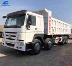 Second Hand 2016 Howo 8x4 Dump Truck With Mileage 50000 Kms for Africa