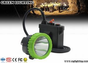 China 50000 Lux IP67 Led Mining Lamp, 11.2Ah Capacity Battery Coal Mining Lights on sale