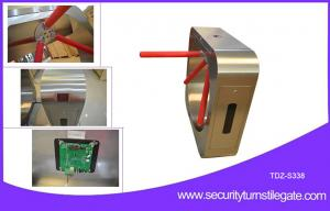 China Exhibition tripod turnstile  gate for   rfid door access control system on sale