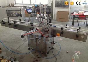 China Round Bottle Sticker Labeling Machine , Automatic Bottle LabelerWith Date Printer on sale