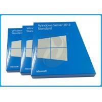 64 Bit Microsoft Windows Server 2012 Retail Box 1.4 GHz Min Processor Speed