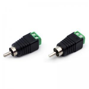quality utp cat5/cat6 cable audio/video av male rca to screw terminal  blocks