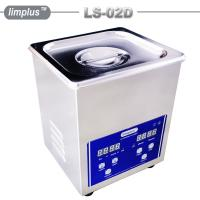 China 2 Liter Table Top Ultrasonic Cleaner / Dental Ultrasonic Bath Digital Timer And Heater on sale