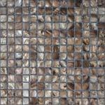 telha de mosaico marítima-fluvial de Shell da pérola da natureza de 4mm para a decoração, revestimento protetor da malha