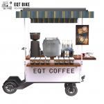 EQT Street Mobile Electric Scooter Commercial Food Cart Vending Scooter for Sale