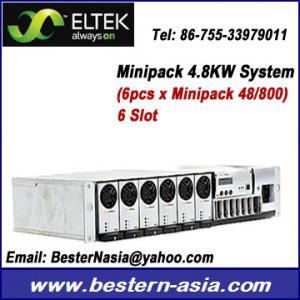 China Eltek Minipack 48V 4.8KW power supply system on sale