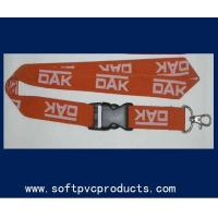China Woven Single Layer Heat-transfer Printing Custom Printed Lanyards for Promotional on sale