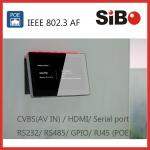 7 Inch Wall Embedded Android POE Tablet PC For Door Intercom System