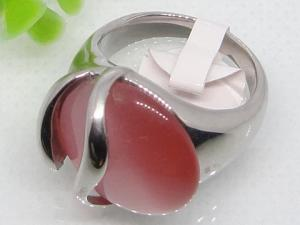 China Rings for Red Semi Precious Stone 1140469 on sale