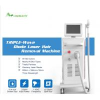China 755nm 808nm 1064nm diode laser hair removal products machine/painless diode laser hair removal on sale