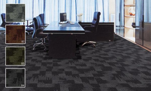 Vienna Stain Resistant Nylon Carpet Tiles Anti Slip And Sound Proof Images