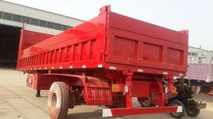 China 50 Tons 3 axle Cargo semi trailer Tri-axle Side Wall truck Trailer on sale
