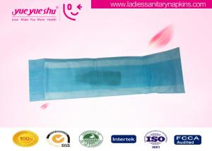 China Breathable Cotton Sanitary Napkin / Natural Sanitary Pads Side Protection on sale