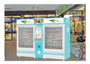 China Combo Medicine & Beverage Vending Machine For Pharmacy With Cloud Service on sale