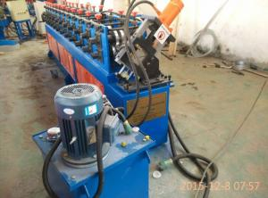 Quality 2.5 Tons 3Kw Metal Stud And Track Roll Form Machine with 10 Roller Stations for sale