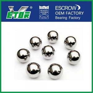 China High Fracture Toughness Round Steel Balls , Solid Precision Steel Balls on sale