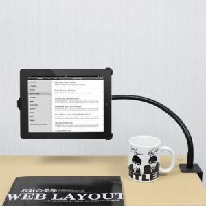 China 360o One-way Clamp Adjustable Arm Stand Bedroom Tablet PC Mount Holder For iPad/other 7-10'' tablet PC on sale