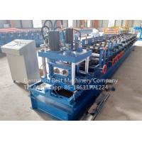 80 - 300 mm Manual Change Size C Purlin Roll Forming Machine Roofing Usage