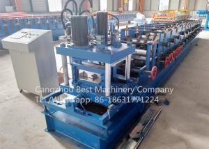 China 80 - 300 mm Manual Change Size C Purlin Roll Forming Machine Roofing Usage on sale
