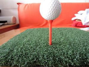 China 40mm 5/16 Needle Distance PP Durable Artificial GrassTurf, Golf Artificial Turf ,Baseball,Hockey Court on sale