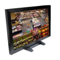 China 32 Inch Surveillance Cctv Monitor Screen , BNC Cctv Video Monitor For Security Room on sale