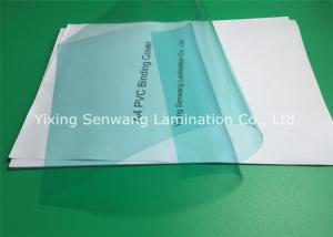 China Colorful Clear Binding Covers A3 , Plastic Report Covers 0.1-0.3 mm Thickness on sale