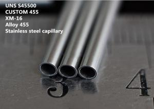 China UNS S45500 / Custom 455 Special Alloys For Medical Good Corrosion Resistance on sale