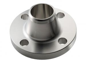 China Forged WN Stainless Steel Weld Neck Flange , Stainless Steel Threaded Flange on sale