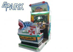 China Game Center Laser Shooting Arcade Machines for Adult / Children on sale