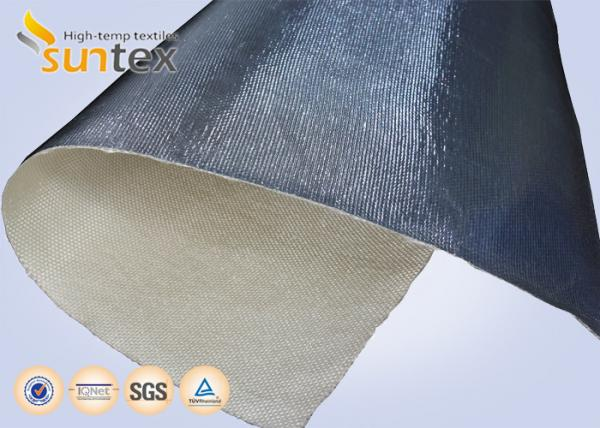 14 microns Aluminum Foil Fiberglass Cloth Fire Insulation