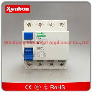 ID model 63 amp 30ma 100mA 300ma RCD ELCB RCCB trip circuit breaker