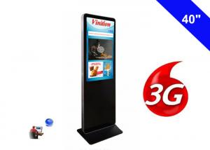 China 1080P 3G Digital Signage WIFI Kiosk 40 Inch Commercial LCD Advertising Display on sale