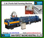 C et petit pain de Purlin de Z formant la machine