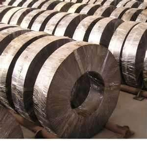 China Thickness 3.5mm 610mm ID corrosion resistance Cold Rolled Steel Strip for containers, ships on sale