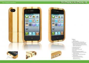 China Factory wholesale real wood phone case for iphone case bamboo on sale