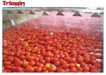 1500KG / H tomato paste processing machine with tomato paste package machine glass bottle