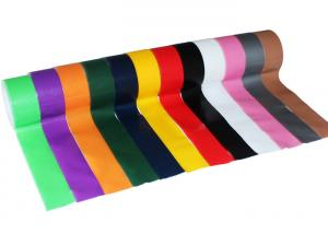 China Strong Adhesive Colored Cloth Duct Tape For Fixing Wrapping 0.15mm - 0.28mm on sale